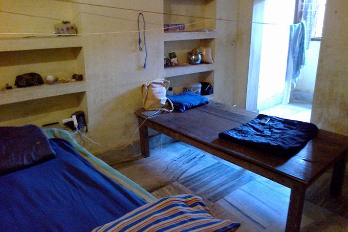 Комната за 150 рупий в Пурушоттам матхе