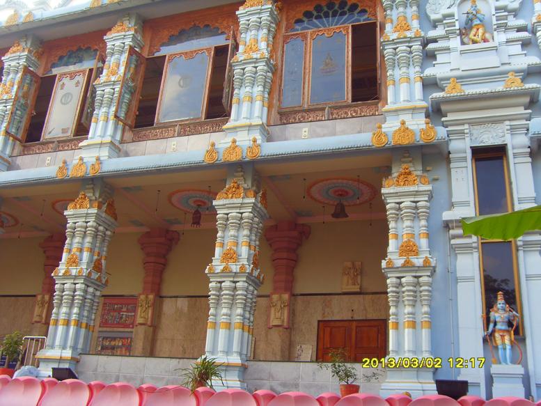 Храм-лотос ИСККОН в Тирупати