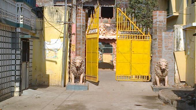 Ворота со львами