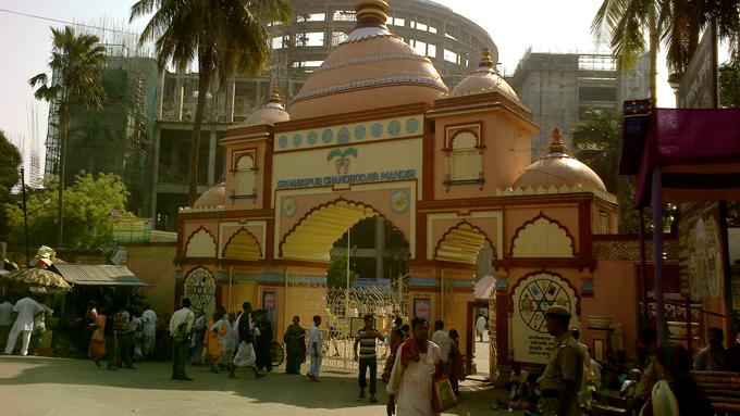 Главные ворота Маяпур-ИСКККОН