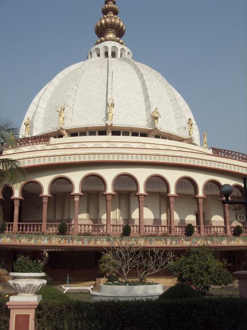 Храм в честь Бхактиведанты Свами