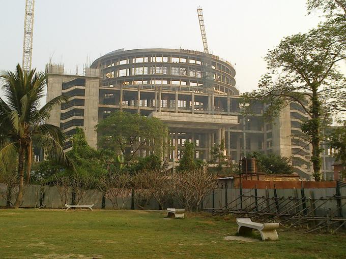 Строительство храма-планетария