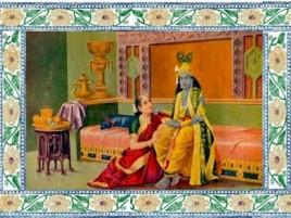 Бакула Деви смотрела на Вишну, как на своего сына.