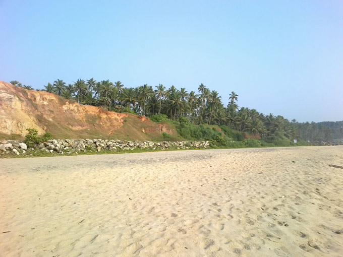 Пляжи Варкалы.