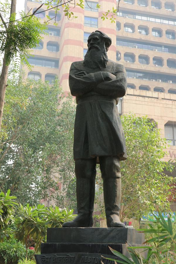 Лев Толстой в Дели.