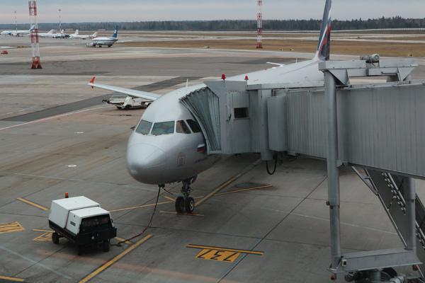 Посадка на самолёт в Индию