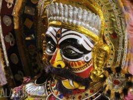 Традиционные южно-индийские ростовые куклы.