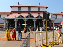 Храм Шивы в Дхармастхале.